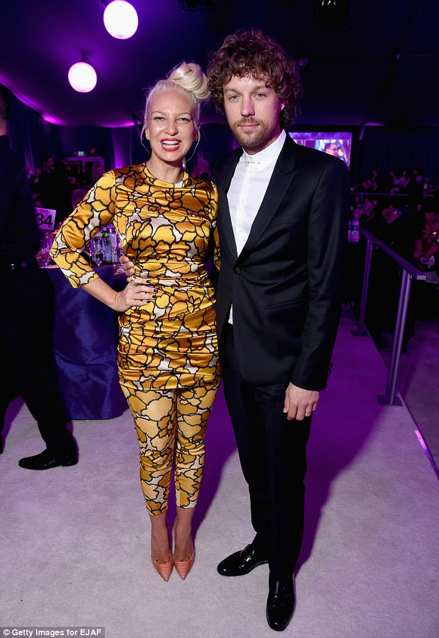 Former husband and wife: Eric Lang and Sia