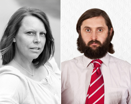 Joe Wilkinson and his wife Petra Exton