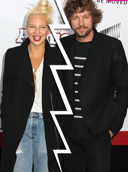 Divorced husband and wife: Eric Lang and Sia