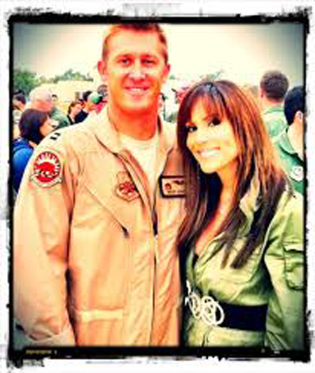girlfriend Leeann Tweeden together with her boyfriend Chris Dougherty