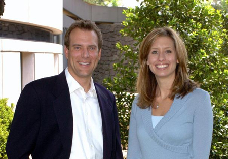 Stephaine with her husband Mike Bettes