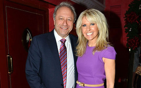 Monica Crowley and Bill Seigel posing with a smile