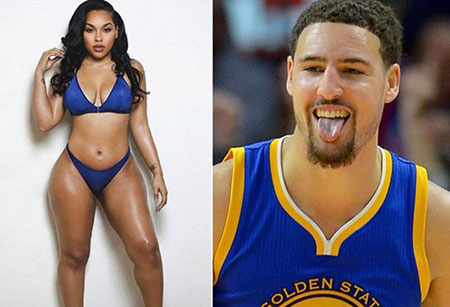hannah dating klay thompson