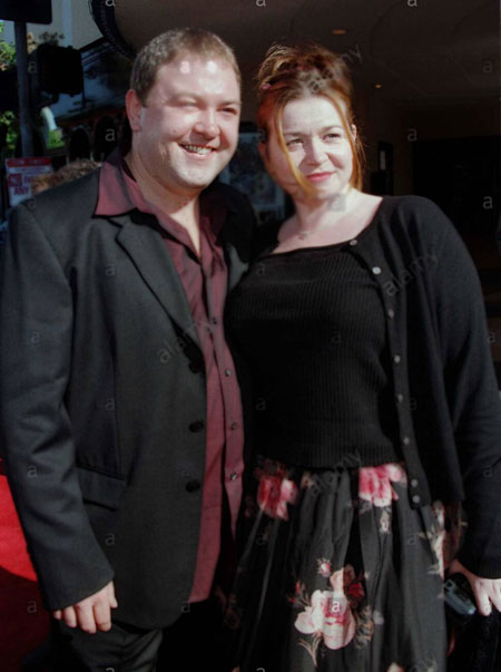 husband Mark Ian Addy with his married wife Kelly J. Biggs