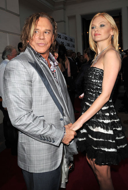 American Actor Mickey Rourke, age 64, is not dating; No ...
