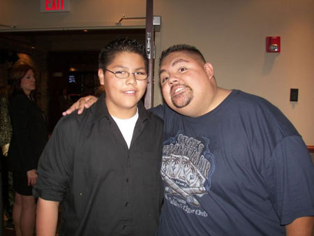 Father and son relation: Gabriel Iglesias and Frankie
