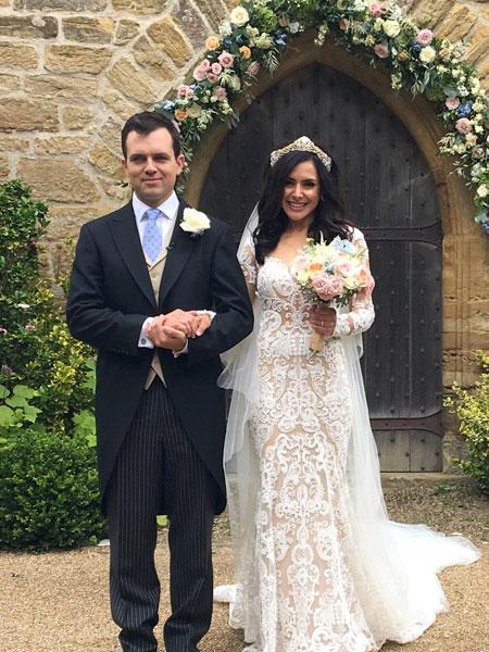 BBC Presenter Nazaneen Ghaffar Married Charlie Rose and ...
