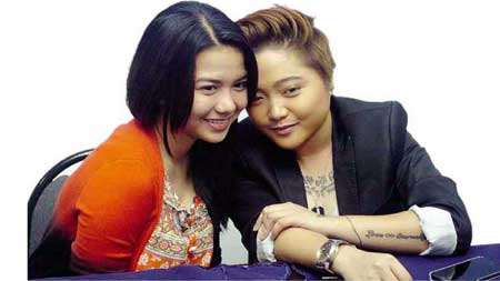 Charice was interested in singing