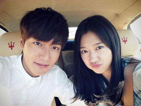 Park Shin Hye Is Rumored To Be Dating Her The Heirs Co Star Lee Min Ho