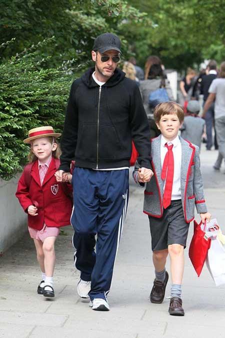 Matthew Vaughn Baby Meet Claudia Schiffer,...