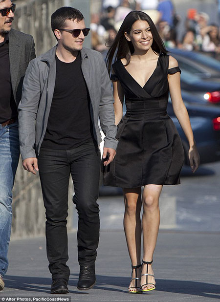 Is Hunger Games actor Josh Hutcherson Dating someone? Has ...