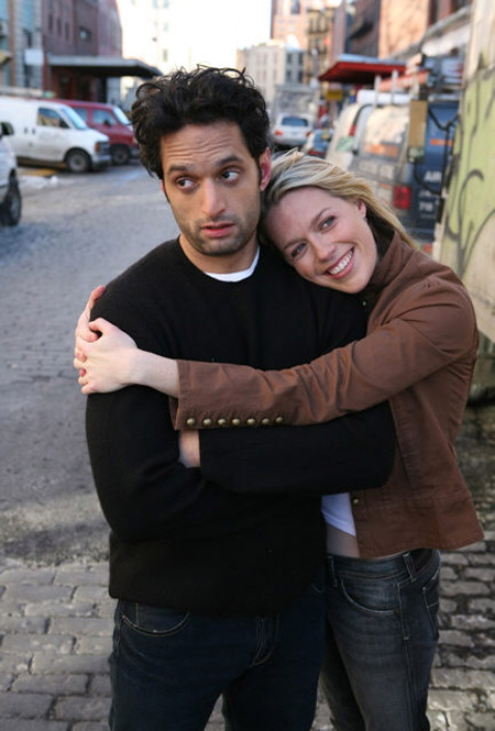 Then boyfriend and girlfriend: Ban O'Brien and Jessica St. Clair