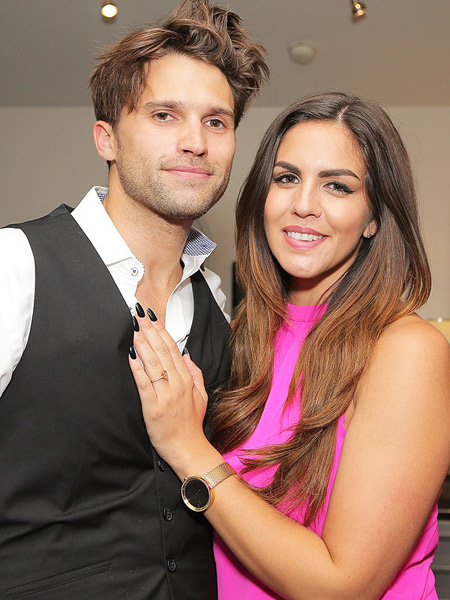 Husband and wife: Tom Schwartz and Katie Maloney