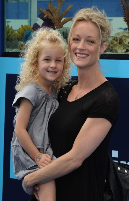 Teri polo with her Daughter.