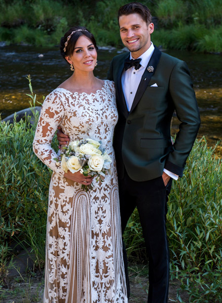Happily married husband and wife: Tom Schwartz and Katie Maloney at their wedding