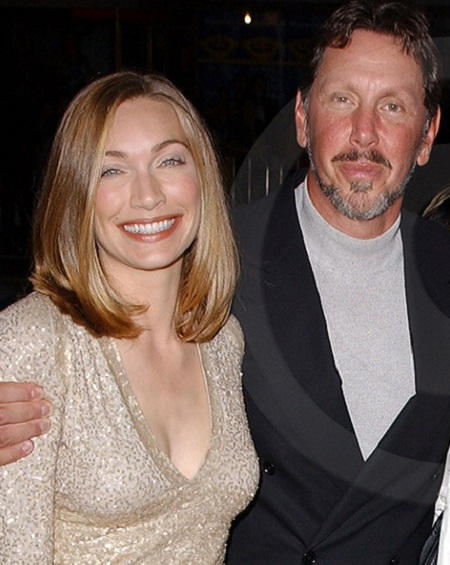 Melanie Craft and Larry Ellison