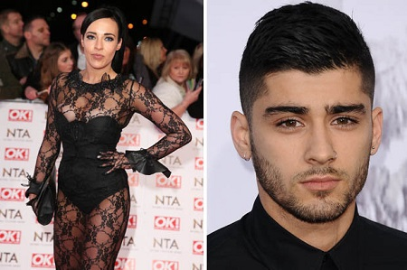 Zayn Malik and Stephanie Davis