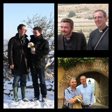 Richard Coles and David Oldham