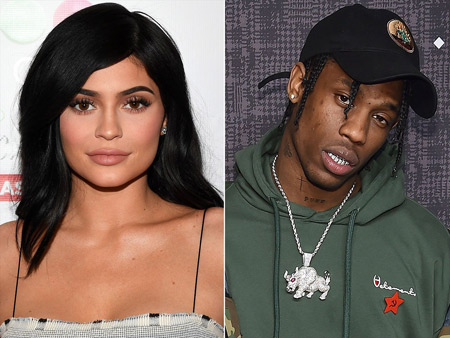 Boyfriend and girlfriend: Travis Scott and Kylie Jenner