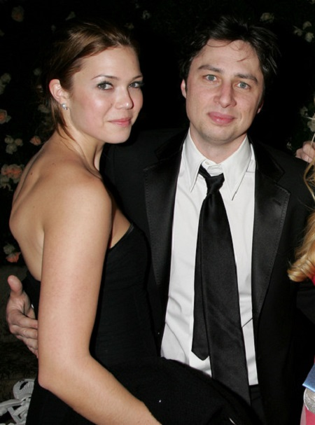 Many Moore and Zach Braff
