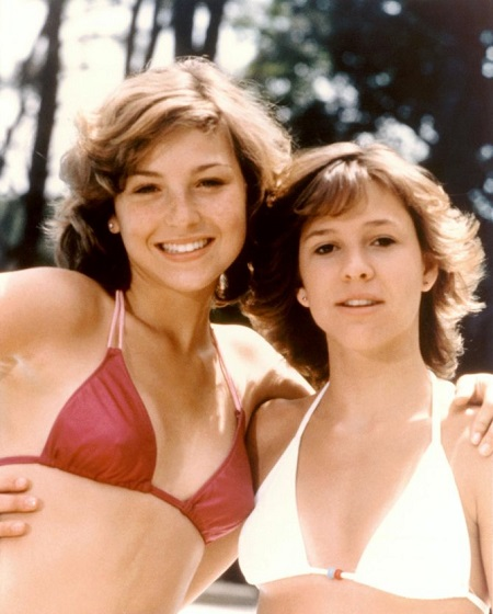 Martie Allen and Kristy McNichol, the partners