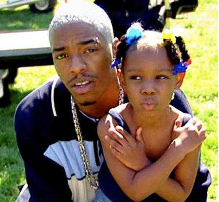 Sisqo with his daughter Shaione