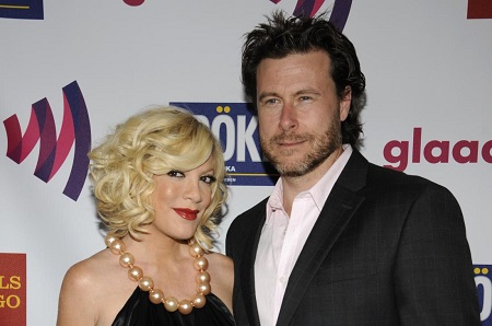 Tori and her husband Dean McDermott