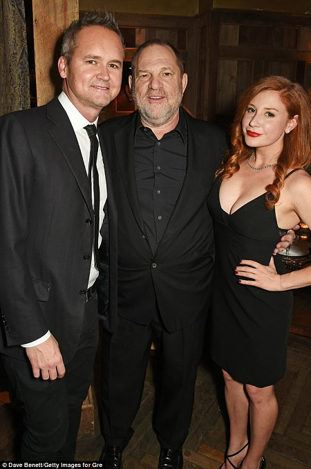Roy Price, Harvey Weinstein and Lila Feinberg