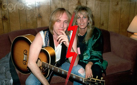 Tom Petty and Jane Benyo