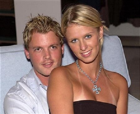 Brian McFayden and Nicky Hilton