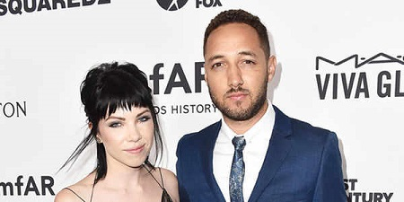 The love couple: Carly Rae Jepsen and David Larkins