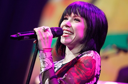 Canadian singer, Carly Rae Jepson