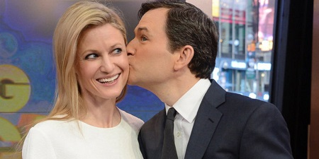 Dan Harris kissing Bianca
