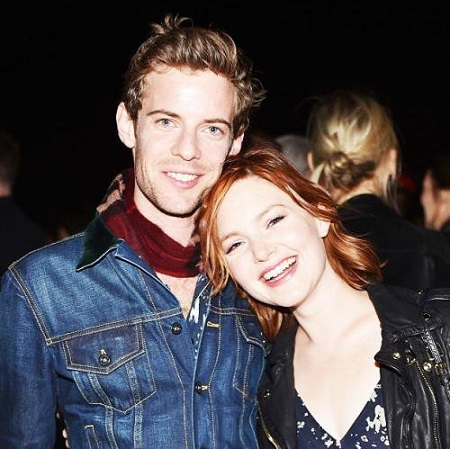 Harry Treadaway with girlfriend Holliday Grainger