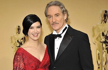 Phoebe Cates and her husband Kevin Kline