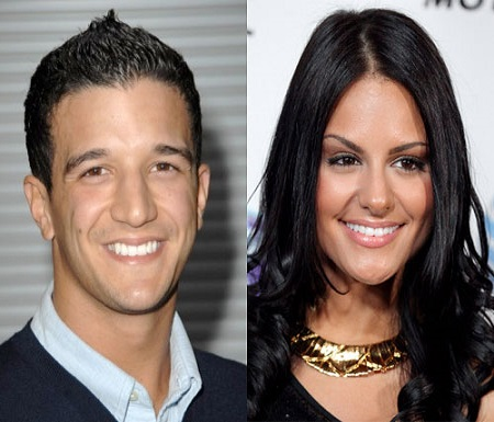 Pia Toscano and Mark Ballas
