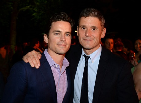 Simon Halls and Matt Bomer