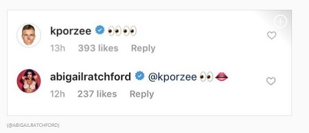 Ratchford replying to Kristaps