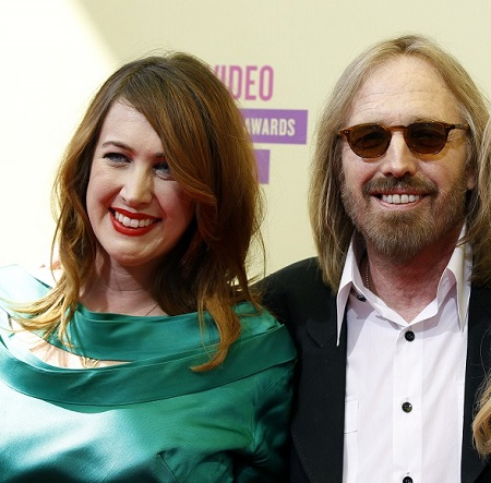 Tom Petty and daughter, Adira