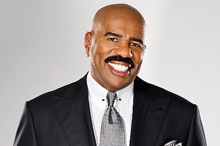 Comedian Steve Harvey