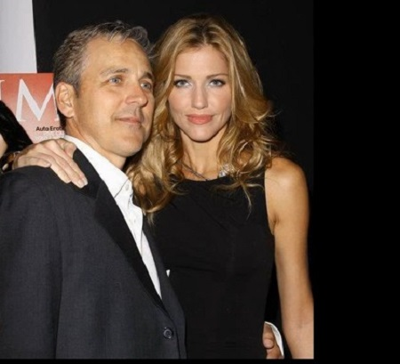 Tricia Helfer and Jonathan Marshall