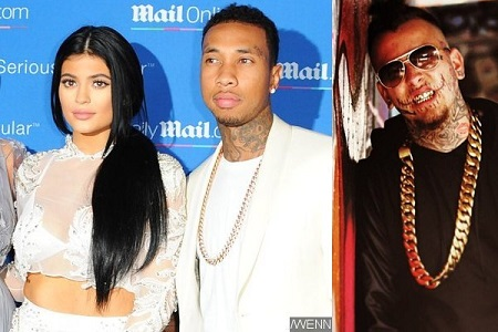 Kylie Jenner, Tyga and Stitches