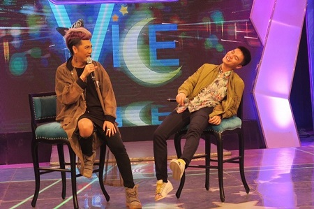 Vice Ganda and Ronnie Alonte