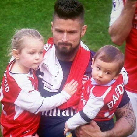 Olivier Giroud The Proud Father Of Two And Preparing For Third One