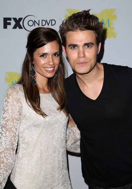 Torrey DeVitto with her former husband Paul Wesley