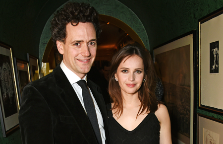 Felicity Jones Engaged to Boyfriend of two years, Charles Guard in May 2017