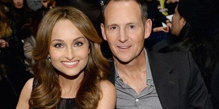 Todd Thompson with former wife, Giada De Laurentiis