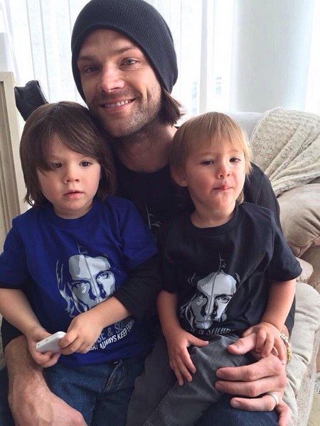 Jared Padalecki with his sons