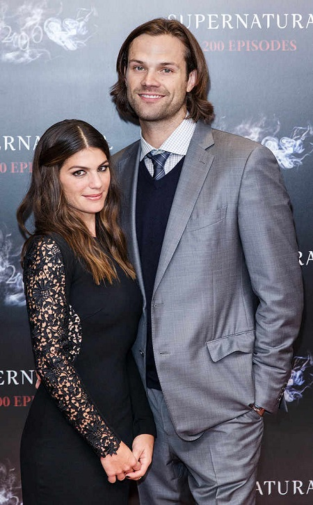 Jared Padalecki with his wife Genevieve Cortese