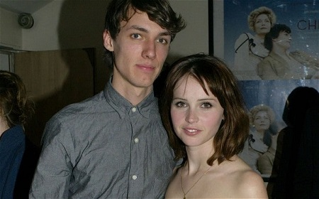 Felicity Jones and her former boyfriend, Ed Fornieles whom she split in 2013 after 10 years of dating